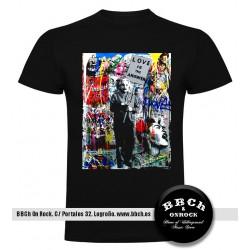 Camiseta Einstein Banksy