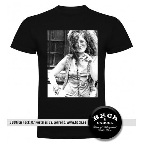 Camiseta Janis Joplin Nude