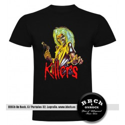 Camiseta Killers Iron Maiden