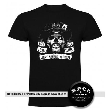 Camiseta Lemmy Kilmister