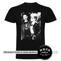 Camiseta Lemmy Kilmister & Wendy