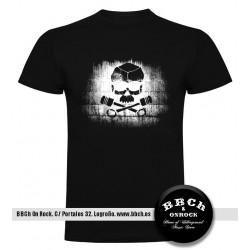 Camiseta Skull Pistons
