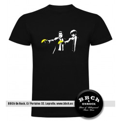 Camiseta Pulp Fiction Banksy