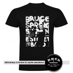 Camiseta Bruce Springsteen Photo Text
