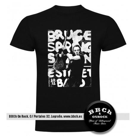 Camiseta Bruce Springsteen Photo Text