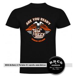 Camiseta Thin Lizzy Escudo