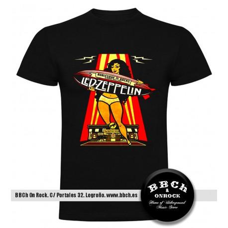 Camiseta Led Zeppelin Zeppelin