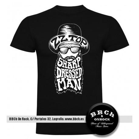 Camiseta ZZ Top Sharp