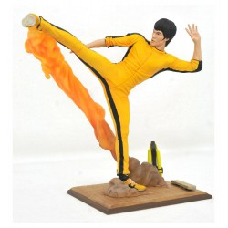 Bruce Lee Gallery Estatua Kicking 25 cm