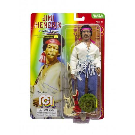 Jimi Hendrix Figura Woodstock Flocked