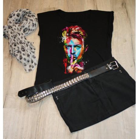 Camiseta Bowie  ilustracion