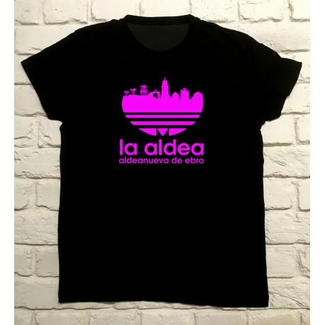 Camiseta Aldeanueva de Ebro Skyline