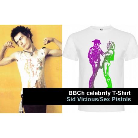 BBCh Celebrity T-Shirt Sid Vicious, Sex Pistols 2