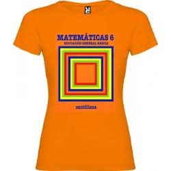 Camiseta EGB Vintage Libro de Texto Matemáticas Chico