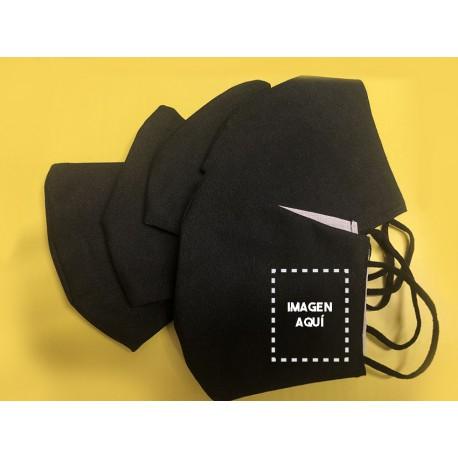 Pack 5 mascarillas personalizadas