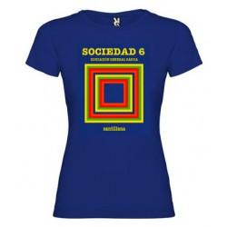 Camiseta EGB Vintage Libro de Texto Matemáticas Chica