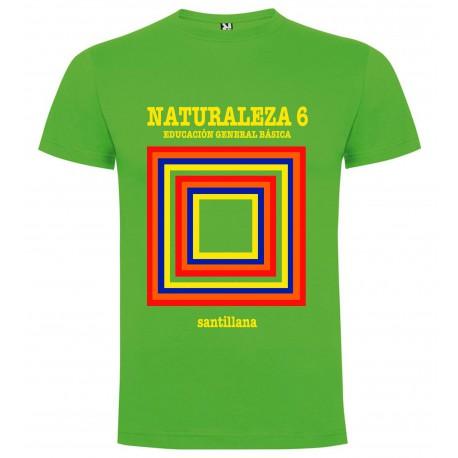 Camiseta EGB Vintage Libro de Texto Naturaleza Chico