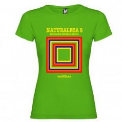 Camiseta EGB Vintage Libro de Texto Naturaleza Chica