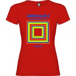 Camiseta EGB Vintage Libro de Texto Lenguaje Chica