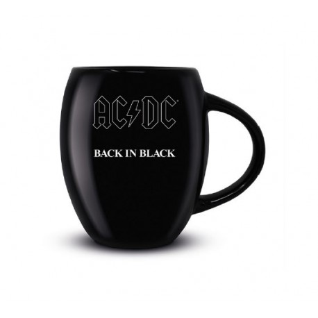 AC/DC Taza Oval Back in Black