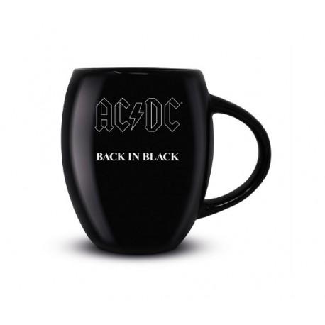 AC/DC Taza Oval Back in Black