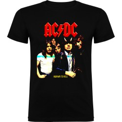 Camiseta de niño AC/DC Highway to Hell
